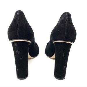 Gucci Shoes - GUCCI Marmont Suede Loafer Pumps